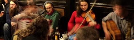 Edimburgo: Roda de folk