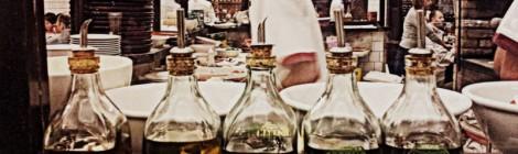 Bráz: pão, pizza, azeite e chopp cremoso