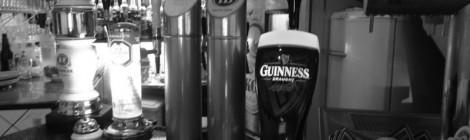 Guinness das cinco na Asterix Cervejaria
