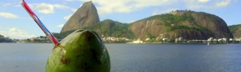 A água de coco com a melhor vista do mundo