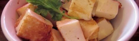 No balcão: o queijo coalho do Rota do Acarajé