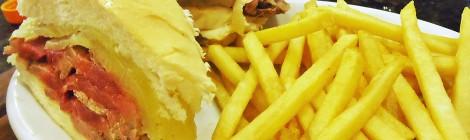Sanduíche de rosbife do Cabidinho