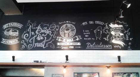 Um retorno ao Sanduíche de Pastrami do Z Deli Sandwich Shop