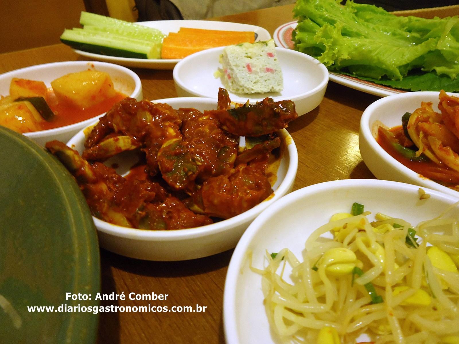 Sashimi do Mar, comida coreana 2