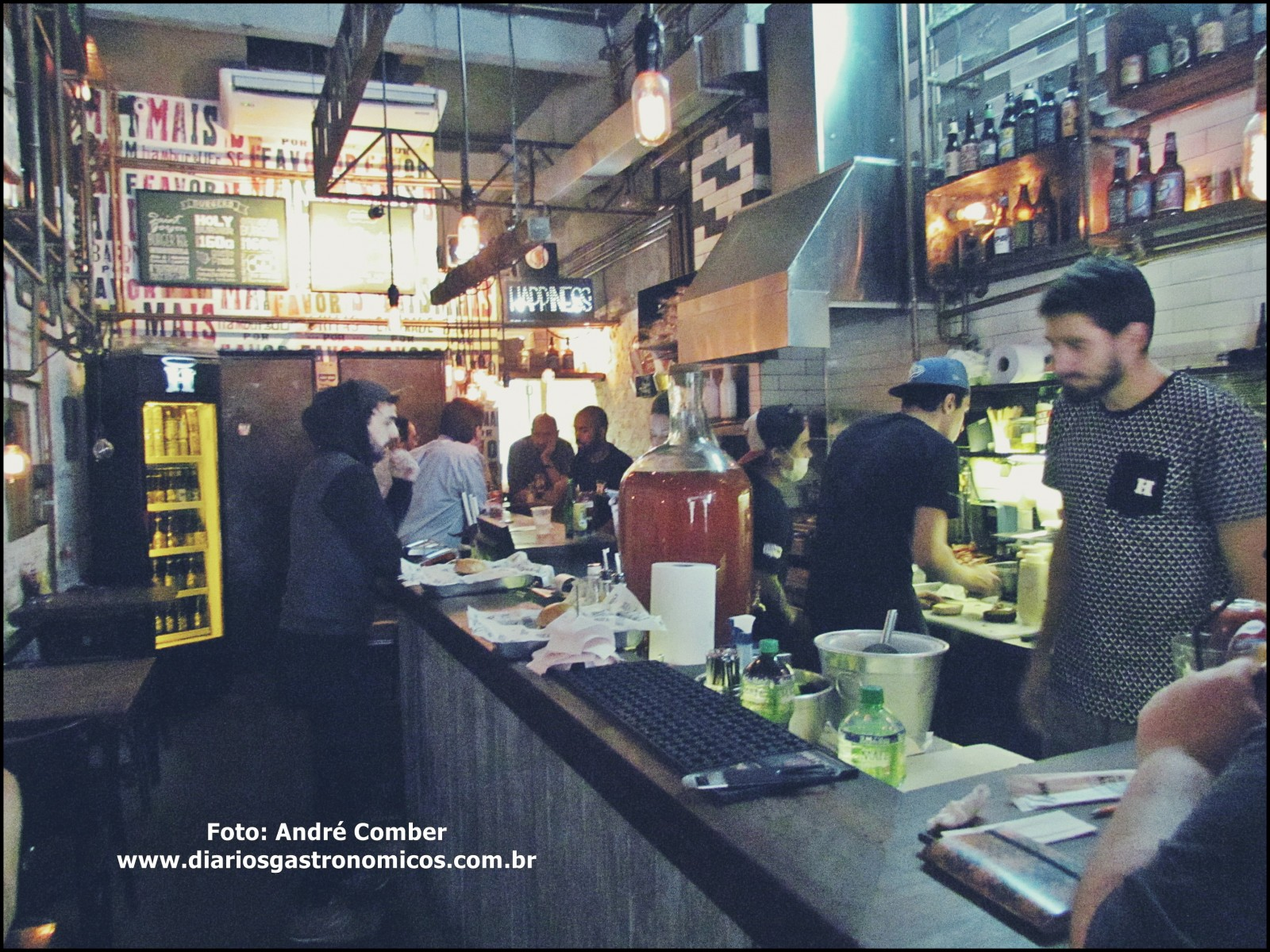 Holy Burger - ambiente