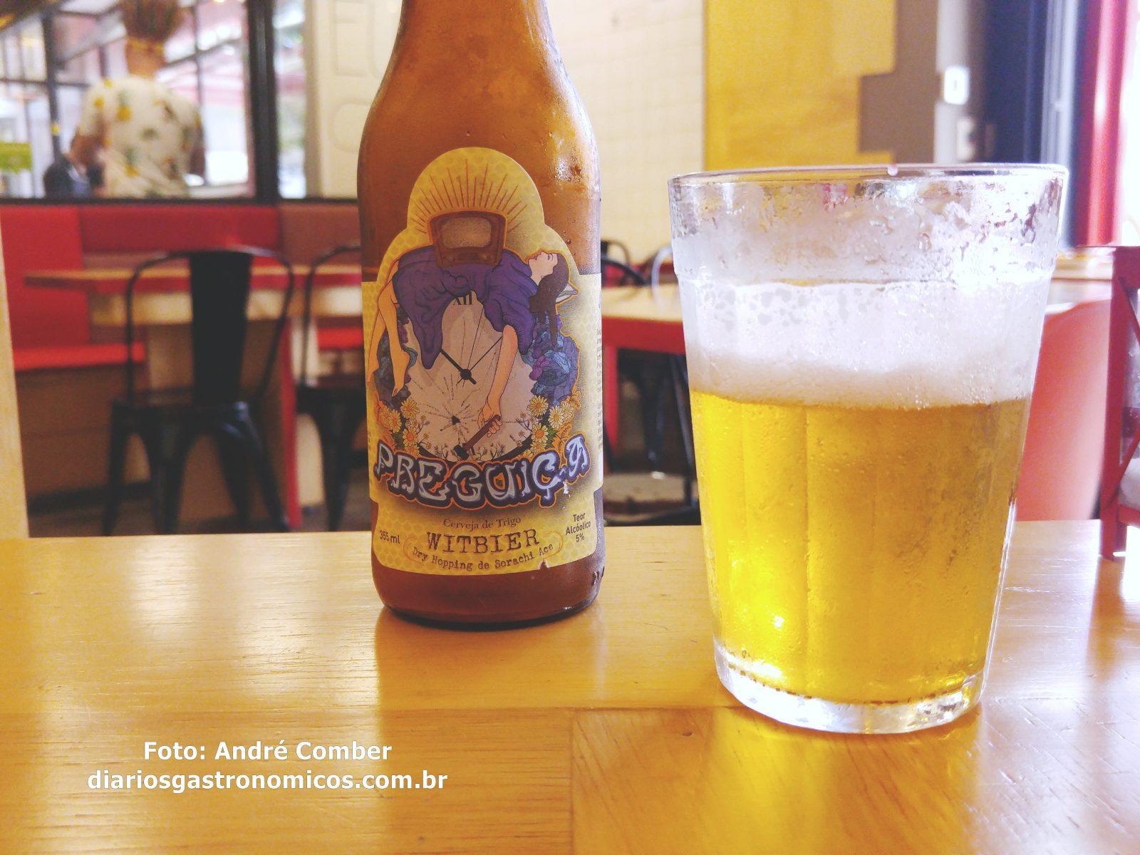 Opyco, cerveja Preguica, witbier
