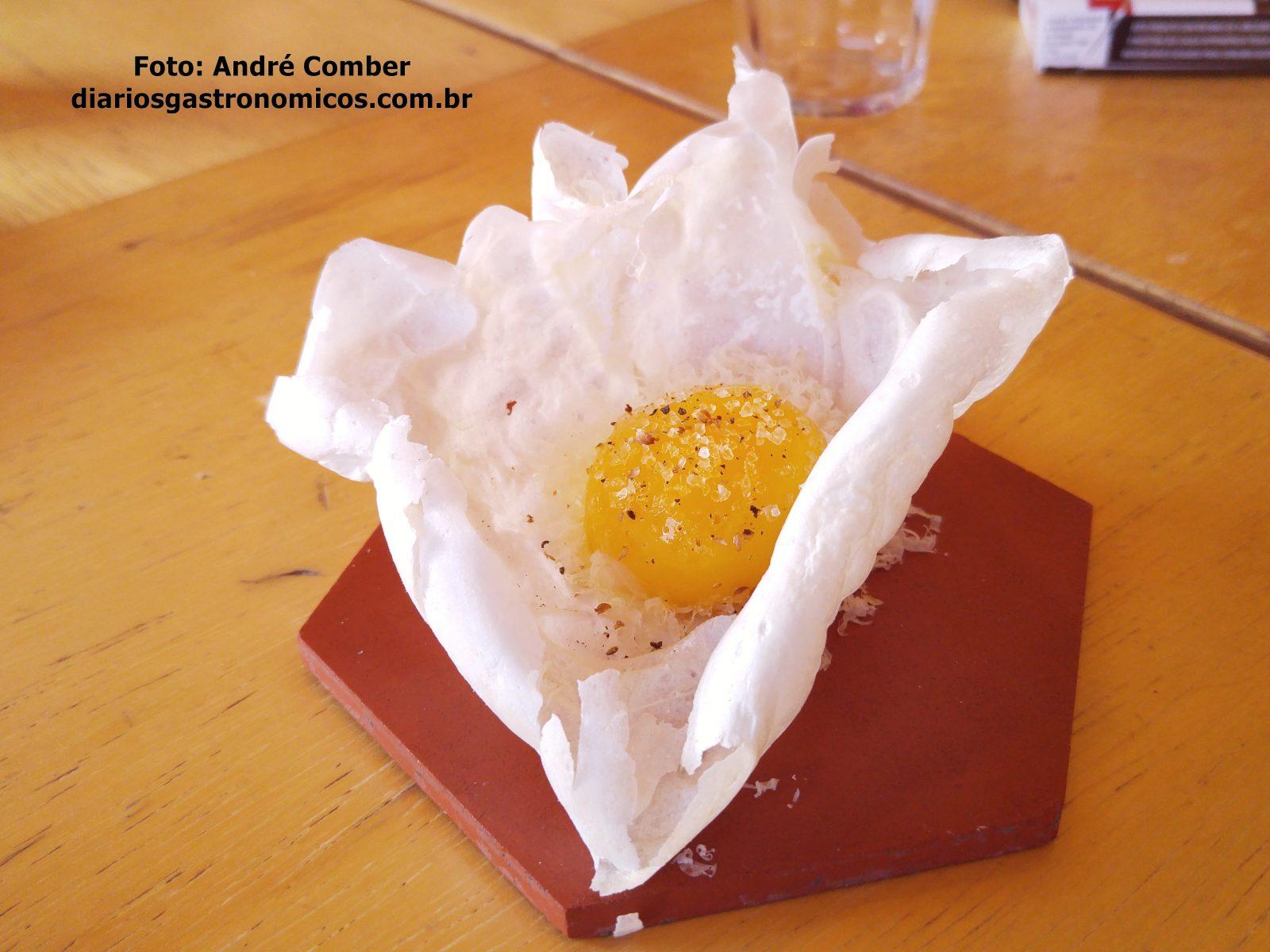 Opyco, ovo com clara crocante