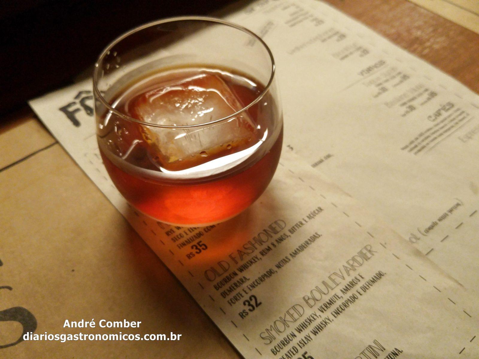 Bar Forno, Smoked Boulevardier