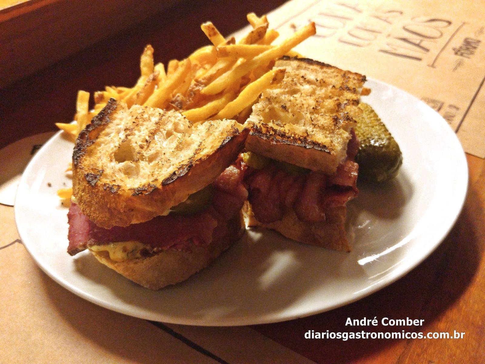 Bar Forno, sanduiche de pastrami